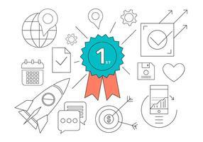Business Icons gratuit vecteur