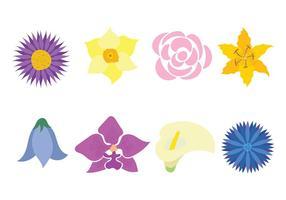 Fleur Icône Vecteur
