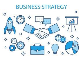 Gratuit Business Strategy Vector Illustration