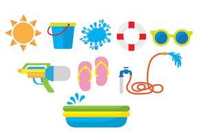 Icônes de Songkran
