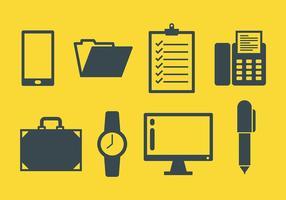 Business Icons Vecteur libre