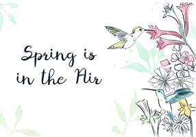 Spring Background vecteur