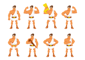 Hercules Cartoon Vector