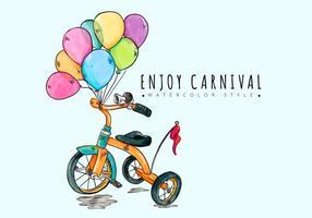 Contexte Carnaval gratuit vecteur