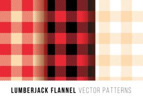 Lumberjack Flanelle vecteur libre