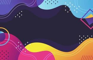 fond de vague abstraite colorée