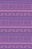 ethnique fait à la main. fond vintage tribal vecteur