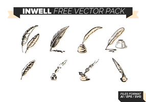 Encrier gratuit Vector Pack