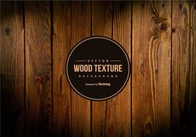 Vector Dark Wood Texture Background