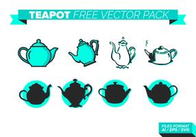 Teapot gratuit Vector Pack