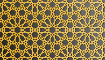 conception de motif islamique traditionnel