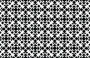 modèle sans couture géométrique noir et blanc