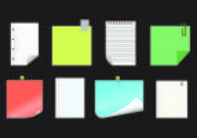 Paper Vector Of Block Notes