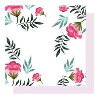 arrangements floraux pour fond de décoration de voeux