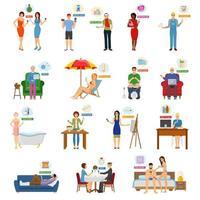 situations d'achats en ligne et de commerce électronique