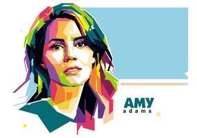 Amy adams wpap vecteur