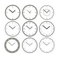 ensemble d'horloge murale