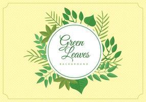 Jungle gratuit Leaves Background vecteur