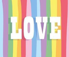 texte d'amour sur fond lgbti