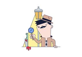 Detective Free Vector