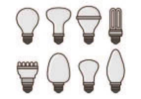 Set Of Ampoules Vecteurs