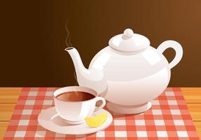 Teapot réel vecteur libre