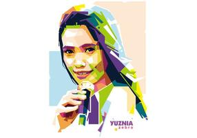 Yuznia Zebro Vector Chanteur Wpap