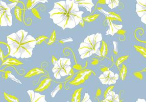 Floral Background décoratif Fleurs pastel Motif continu vecteur