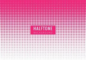 Rose vecteur libre moderne Halftone Backgrpound