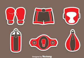 Great Boxing Element Vecteurs