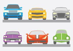 Carros Icônes vecteur libre