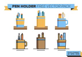 Pen Holder libre Pack Vector
