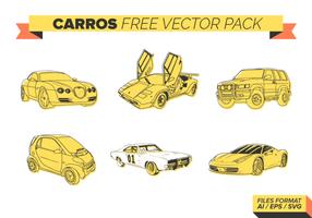 Carros gratuit Pack Vector