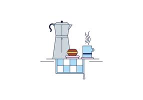 Café vecteur libre