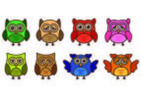 Set Of Buho Icons