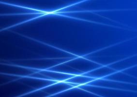 abstrait avec des lumières bleues vecteur