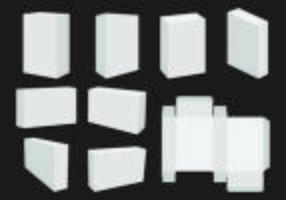Modèle de vecteur boîte de savon