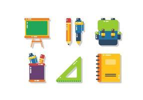 École unique gratuit icône Vecteurs vecteur