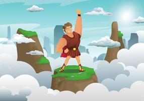 Hercules Personnage Illustration Vecteur