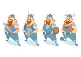 Viking character vector set