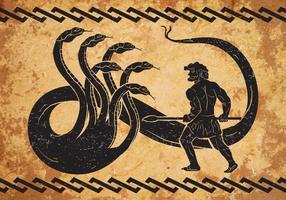 Hercules Second travail vecteur