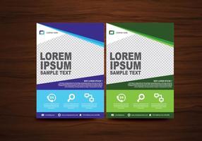 Vector Brochure Flyer modèle de mise en page de conception en format A4