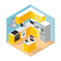 icônes d'appareils ménagers vecteur