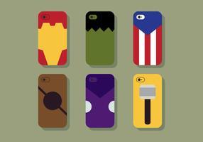 Fun Case Vector Téléphone