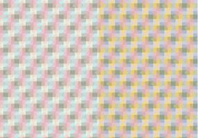 Pastel motif carré vecteur