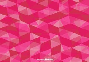 Vecteur rose polygonal fond