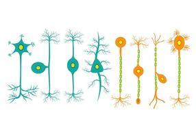 icônes Neuron vecteur