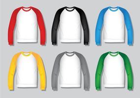 Raglan Shirt - Réaliste vecteur