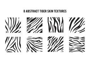 Simple Motif Tiger Stripe vecteur
