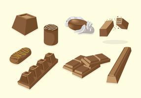 chocolat Vecteur